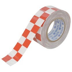 Brady - 121916 - Aisle Marking Tape, Checkered, Continuous Roll, 2 Width, 1 EA
