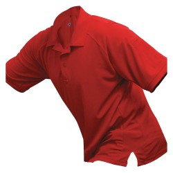 Fechheimer - VTX4000RDP - Mens Tactical Polo, Red, Short Sleeve, 2XL