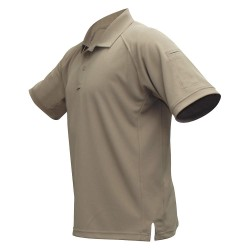 Fechheimer - VTX4000TNP - Mens Tactical Polo, Tan, Short Sleeve, 2XL