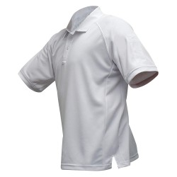 Fechheimer - VTX4000WHP - Mens Tactical Polo, White, Shrt Sleeve, 2XL