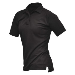 Fechheimer - VTX4010BKP - Womens Tactical Polo, Black, Shrt Sleeve, M