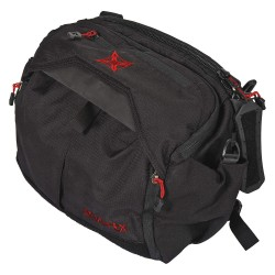 Fechheimer - VTX5000BKR - Ammo Bag, Black/Red, 16 in. L, 11 Pockets