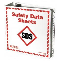 GHS Safety / Incom - GHS1049 - SDS Binder, English