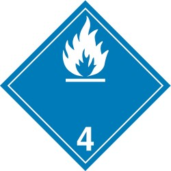 GHS Safety / Incom - GHS1290LP - Label, White/Blue, Laser Paper, PK100