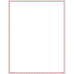 GHS Safety / Incom - GHS1278VY - White/Red Label, 11 Width