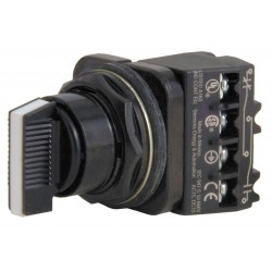 Siemens - 52SX2CABA1 - Non-Illuminated Selector Switch, Size: 30mm, Position: 3, Action: Maintained / Maintained / Maintain