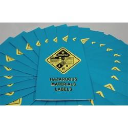 Marcom Group - B0000130SM - Handbook, Hazardous Materials Labels, PK15