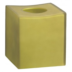 Erwyn - 14009 - Green Frost Resin Tissue Cover, 5-1/2 x 5-1/2 x 6, 12 PK
