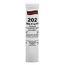 Jet-Lube - 33050 - Black Lithium Multipurpose Grease, 14 oz., NLGI Grade: 2