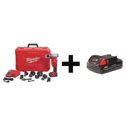 Milwaukee Electric Tool - 2677-21 48-11-1820 - Cordless Knockout Tool Kit, 1/2 to 2 in.