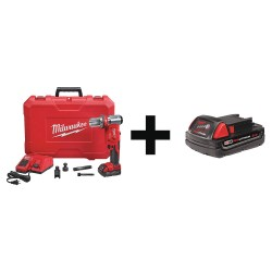 Milwaukee Electric Tool - 2677-20 48-11-1820 - M186T Knockout Tool Kit, with Battery