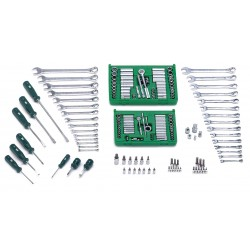 SK Hand Tool - 86172A-1 - SAE, Metric Master Tool Set, Number of Pieces: 172, Primary Application: Mechanic