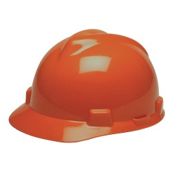 MSA - 489368 - Cap, V-Guard, 4pt.Rtcht, Hi-Vis Or