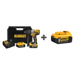 Dewalt - DCD996P2 / DCB205 - 1/2 Cordless Hammer Drill, 20.0 Voltage, Battery Included