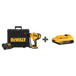 Dewalt - DCN660D1 / DCB203 - Cordless Nailer, Voltage 20.0 Li-Ion, Battery Included, Fastener Range 1-1/4 to 2-1/2