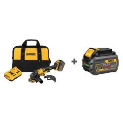 Dewalt - DCG414T1/DCB606 - 6 FLEXVOLT Cordless Angle Grinder Kit, 60.0 Voltage, 9000 No Load RPM, Battery Included