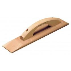 Kraft Tool - CF257 - Concrete Float, Sq, 3-1/2 x 18 in, Redwood