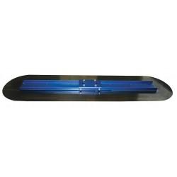 Kraft Tool - CC750-01 - Bull Float, Rnd, 12 x 48 in, Blue Steel