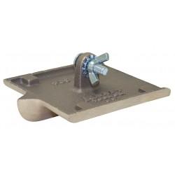Kraft Tool - CC304-01 - Concrete Groover, Bronze, 3/8 in Radius