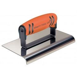 Kraft Tool - CF172PF - Sidewalk Edger, SS/ProForm, 1/4 in Radius
