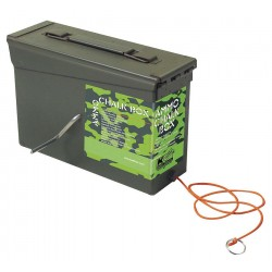 Kraft Tool - GG302 - Chalk Line Box, 150 ft, Poly Cord, Camo Grn