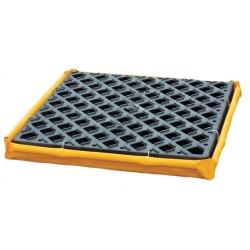 Ultratech - 1350 - UltraTech 24 X 24 X 2 1/2 Ultra P1 Module Yellow Polyethylene Spill Deck, ( Each )