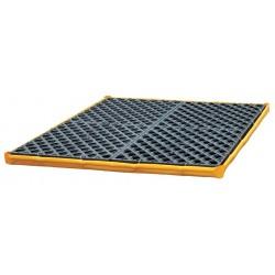 Ultratech - 1352 - UltraTech 48 X 48 X 2 1/2 Flexible Models Ultra P4 Module Yellow PVC Spill Deck, ( Each )