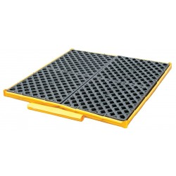 Ultratech - 1362 - UltraTech 51 X 48 X 5 Flexible Models Ultra-Spill Decks P4 Yellow Polyethylene Bladder System, ( Each )