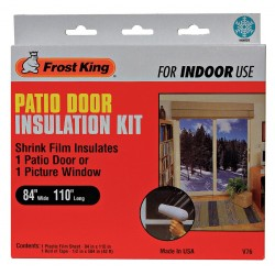 Frost King - V76H - Patio Door Kit, 84 x 110 In