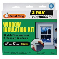 Frost King - V93/3 - Window Kit, Outdoor, 42 W x 62 L