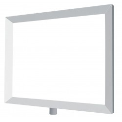 Lawrence Metal Products - FRAME-NOSC-1S-1114HD-H - Sign Frame, Satin Chrome, 11 x 14In