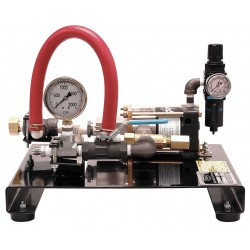Wherify Wireless - 32150 - Pneumatic Test Pump, Reciprocating Plunger, .5 GPM, 1500