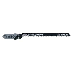 "Bosch - T119BO3 - 9/32"" High Carbon Steel Jig Saw Blade, Shank Type: T"