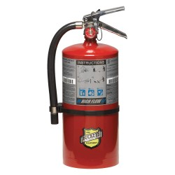 Buckeye Fire Equipment - 11350 - Dry Chemical Fire Extinguisher with 10 lb. Capacity and 10 sec. Discharge Time