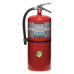 Buckeye Fire Equipment - 12350 - Dry Chemical Fire Extinguisher with 20 lb. Capacity and 18 sec. Discharge Time