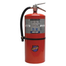 Buckeye Fire Equipment - 12650 - Purple K Dry Chemical Fire Extinguisher with 20 lb. Capacity and 13 sec. Discharge Time