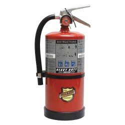 Buckeye Fire Equipment - 11351 - Dry Chemical Fire Extinguisher with 10 lb. Capacity and 10 sec. Discharge Time