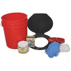 Ready America - 71640 - Emergency Toilet Kit, 4 People Srvd