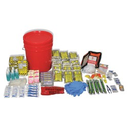 Ready America - 70510 - Emergency Lockdown Kit, 5 People Srvd