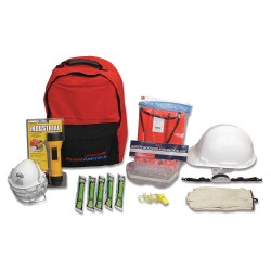 Ready America - 70435 - Manager Emergency Kit, 25 People Srvd