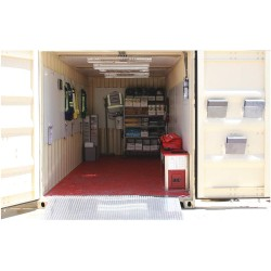 Ready America - 78450 - Emergency Response Container, 8x8x20ft