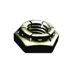 Flexloc - 50FKF-616 - 3/8-16 Top Lock, Plain Finish, 18-8 Stainless Steel, Right Hand, PK50