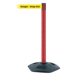 Tensator - 886-21-MAX-NO-YDX-C - Barrier Post with Belt, Yellow