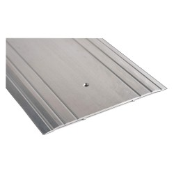 National Guard - 1013 48 - 4 ft. x 10 x 1/4 Fluted Top Saddle Threshold, Aluminum