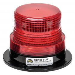 Wolo Manufacturing - 3360P-R - Strobe Light, Permanent Mount, Red