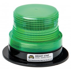 Wolo Manufacturing - 3367P-G - Strobe Light, Permanent Mount, Green