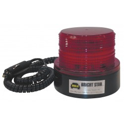 Wolo Manufacturing - 3310-R - Strobe Light, Magnetic Mount, Red