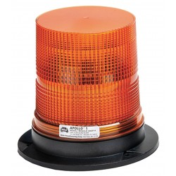 Wolo Manufacturing - 3060P-A - LED Warning Light, Amber, 12/100VDC