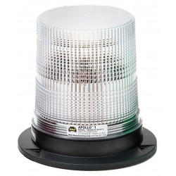 Wolo Manufacturing - 3075P-C - LED Warning Light, Clear, 12/100VDC