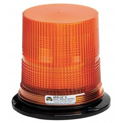 Wolo Manufacturing - 3080PPM-A - LED Warning Light, Amber, 12/60VDC